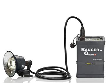 Elinchrom Ranger Quadra flash head and pack