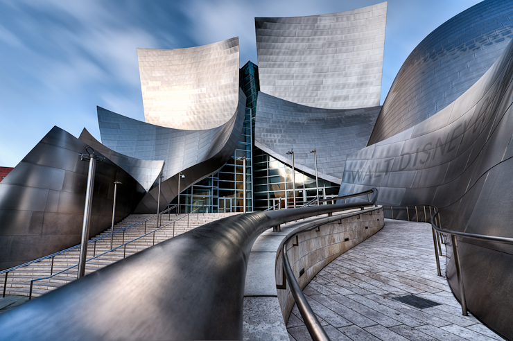 Walt Disney Concert Hall - Frank Gehry, Los Angeles