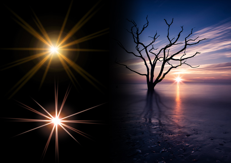 Creating Realistic Starburst Effects in Photoshop