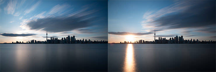 Photographing Long Exposure Panoramas Part - Long exposure photographs capture entire day sunrise sunset