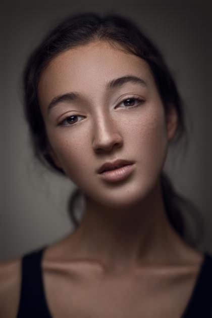 Sam, Plutino Group, Model Portrait, Toronto