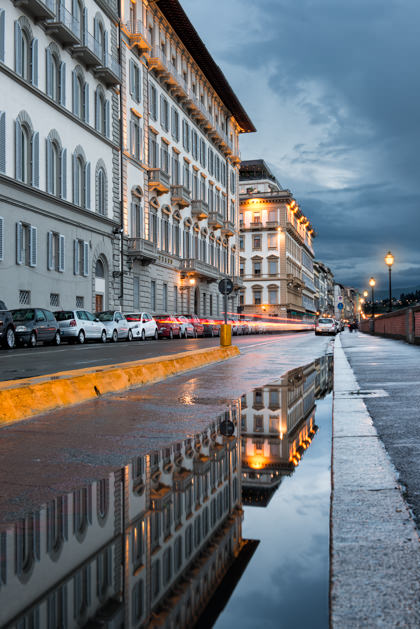 Reflections in Florence Italy