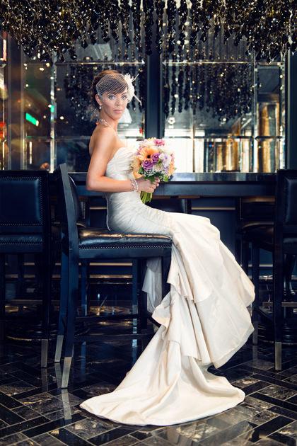 Wedding Photo, Trump Hotel, Toronto